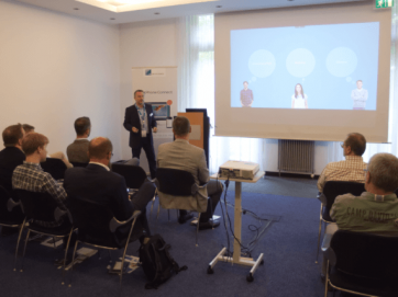 Upgrade-Day Potsdam: Peter Schittko (C4B) in der Live-Demo