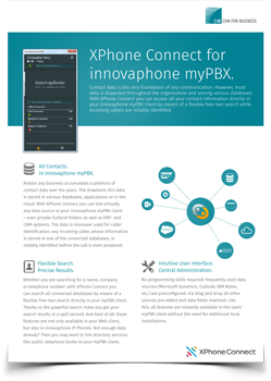 Innovaphone datasheet preview