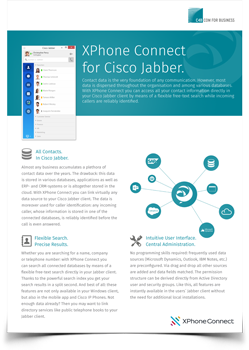 Cisco Jabber datasheet preview
