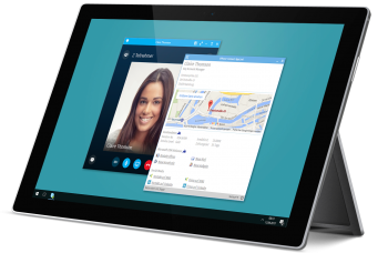 Skype for Business Dashboard Mock-Up
