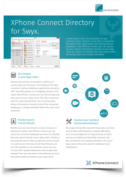 Swyx datasheet preview