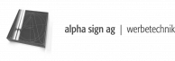 Alpha sign AG: [The quickest way to the customer]