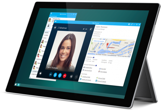 XPhone Connect Dashboard für Skype for Business