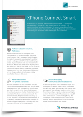 XPhone Connect Smart Flyer